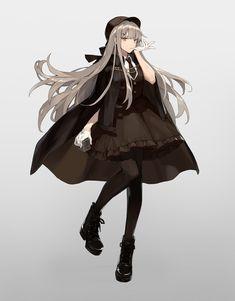 Anime Oc, Chica Anime Manga, Dark Anime, Kawaii Anime, Cool Anime Girl, Pretty Anime Girl, Beautiful Anime Girl, Anime Art Girl, Komplette Outfits