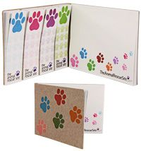 Recycled Paws Galore™ Sticky Note Set at The Animal Rescue Site- I ordered 2 of these and I love them