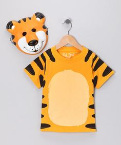 A great option is to find a plain colored shirt and paint on the design for your animal!