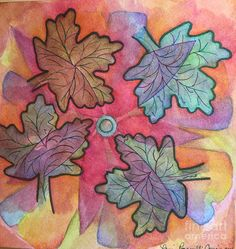 Watercolor  Painting - Turning by Laurie Cairone