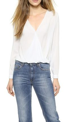 Pretty criss cross blouse