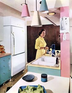 Plan59 :: Retro 1940s 1950s Decor & Furniture :: Retro Kitchen Ideas