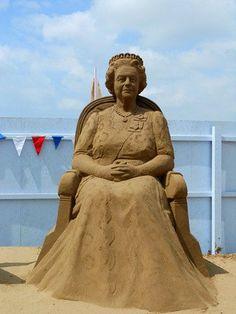 Weston-Super-Mare Sand Sculpture Festival 2012