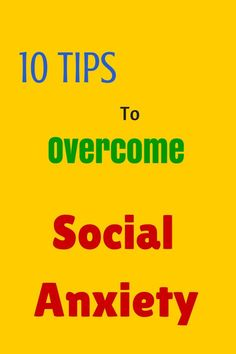 10 Tips to Overcome Social Anxiety  Social anxiety disorder or simply social phobia snatches away your personal and career opportunities and keeps you lagging behind in this competitive world.   I have seen opportunities knock at the door of...