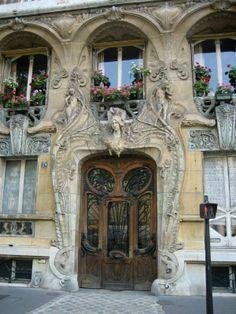 Art Nouveau, Paris | Most Beautiful Pages