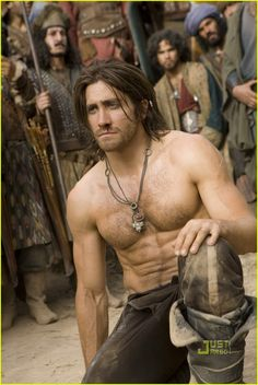 Jake Gyllenhaal - I can't even tell you what this movie was about. This is pretty much all I remember. Half-naked Jake and chest hair!