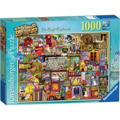 Colin Thompson: The Craft Cupboard Puzzle, 1000 Pieces, Multicolor