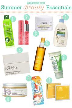 LaurenConrad.com's Summer Beauty Essentials