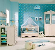 Best Baby Room Color Combination With White