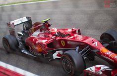 Formula 1 - Kimi Raikkonen - Ferrari - GP Monza 2014 - daniphotodesign.com