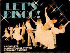 1978 K-Tel Let's Disco Dance Instruction Complete system