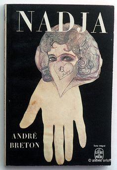 André Breton : Nadja. Le Livre de Poche - Paris, 1971 ( 1ère édition en 1964) n° 1233. couverture: dessin et découpage originaux de Nadja