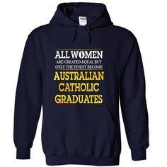 Australian Catholic Graduates (Women) T Shirts, Hoodies Sweatshirts. Check price ==► http://store.customtshirts.xyz/go.php?u=https://www.sunfrog.com/Funny/Australian-Catholic-Graduates-Women-NavyBlue-Hoodie.html?41382