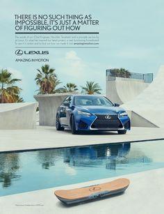 Lexus Automobile Advertising