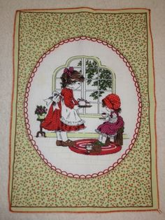 Vintage Holly Hobbie Fabric by KoopsKountryKalico on Etsy, $7.99