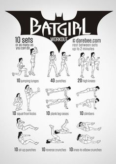 Yoga Fitness Flat Belly - maman super heros - muscu Bat Girl - There are many alternatives to get a flat stomach and among them are various yoga poses. Fitness Workouts, Yoga Fitness, Hero Workouts, At Home Workouts, Fitness Tips, Fitness Motivation, Health Fitness, Fitness Women, Movie Workouts