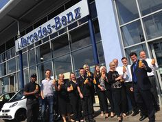 The staff at Mercedes-Benz of Swindon have joined forces with 'The Core' on a five day juice programme for team members to improve their diet, health and well being...!