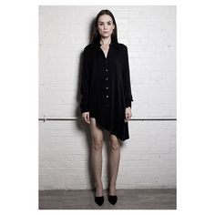 Anjé Silk 'The Shirt Dress'