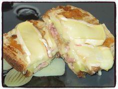 #croque#montagnard#reblochon Temps de préparation : 15 minutes Temps de cuisson : 2 minutes + 10 minutes Recette pour 1 croque Ingrédients : * 2 tranches de pain de campagne * 1 petite pomme de terre * 1 càs de crème fraîche * ½ oignon * 40g de lardons...