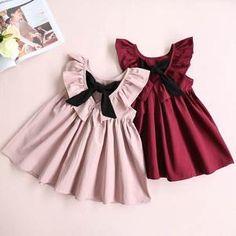 Sweet Heart Bow Dress, Toddler & Little Girls (2T-5X)