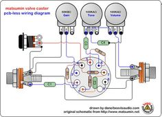 simple guitar amp schematic - Google Search