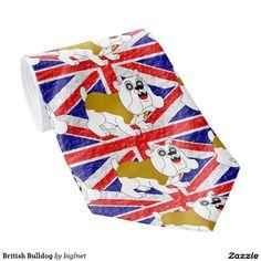 British Bulldog Tie