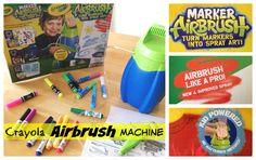 Crayola Marker Airbrush Machine for Kids#Toys #Crayola