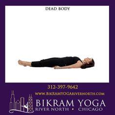Bikram's Standing Head to Knee Pose Bikram Yoga Poses, North Chicago, Body Poses, Hands