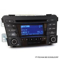 In unserem Shop, ein gebrauchtes Hyundai i40 MP3 Bluetooth Autoradio