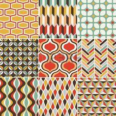 seamless retro pattern  Stock Photo - 19790230