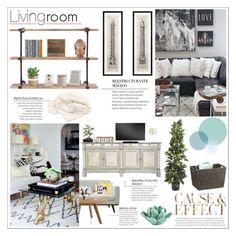"""livingroom"" by honey-beans-xo ❤ liked on Polyvore"