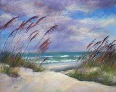 How can you not feel loads better among the dunes? Or just looking at a painting of them...