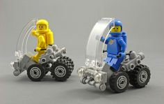 LEGO MOC | Rover2Go #classic #space