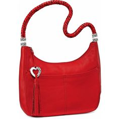 BRIGHTON H204AL lpstk barbados zip top hobo