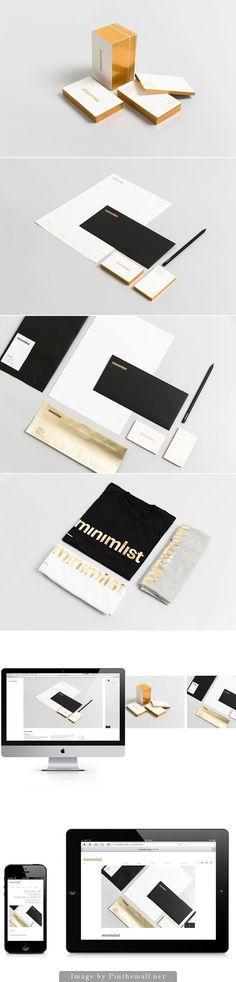 Minimalist Brand Identity Design by Minimalist Studio