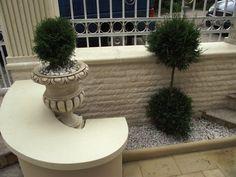 idei garduri marmura,granit si travertin GVB Stone Division Division, Fountain, Stone, Outdoor Decor, Plants, Home Decor, Travertine, Rock, Decoration Home