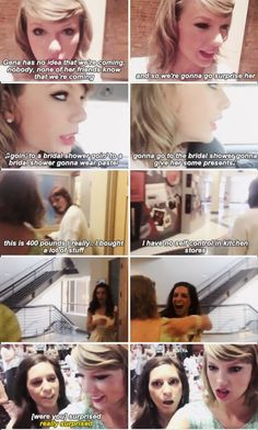 Taylor flies to Ohio to surprise a fan at her bridal shower, after receiving an invitation from her (vlog)  YOURE ARGUMENT IS INVALID