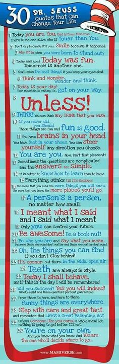 Some inspiration from Dr Seuss