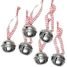 These folkart sleigh bells are full of nostalgic charm, evocative of childhood christmas. Attach them to gifts, the christmas tree, a wine glass, a chair or your shoes! - the possibilities are endless! Vintage Christmas Crafts, Christmas Decorations, Family Christmas, Christmas Tree, Your Shoes, Festivals, Folk Art, Wine Glass, Vintage Style