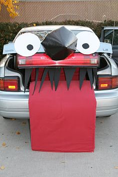 trunk or treat - Car Decorations For Halloween