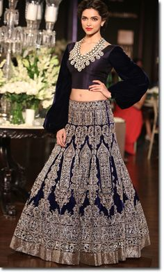 Manish Malhotra - Bridal Collection -Deepika Padukone