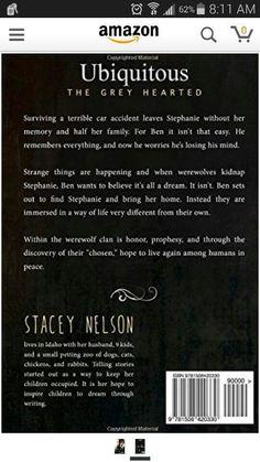 Back cover. #WhoIsReadingUbiquitousNow, #Hallowedmoon.webs.com, #thefamilythatreadstogether, #SoYouWannaBuyABook