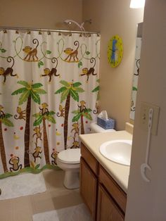 cute kids bathroom ideas bathroom ideas on monkey bathroom kid 17101