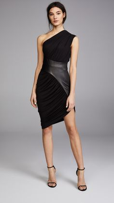 Alexander Wang Asymmetrical Draped Dress