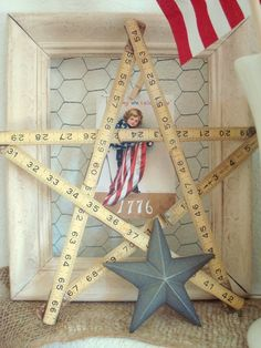 use the old ruler and make a star!