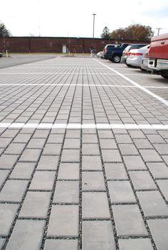 permeable pavers parking lot - Google Search