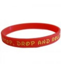 a39e1ce65 TheAwristocrat.com has great pricing on 8mm wide Printed Silicone Wristbands!  Get your message