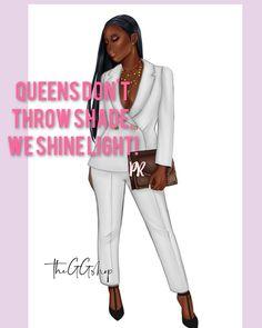 Black Girl Quotes, Black Women Quotes, Black Girl Art, Black Women Art, Black Girl Magic, Diva Quotes, Babe Quotes, Girl Boss Quotes, Queen Quotes
