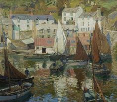 The Harbour, Polperro, Cornwall - John Anthony Park