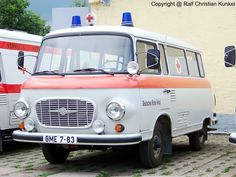 Barkas B 1000 SMH 2 - Schnelle medizinische Hilfe, Deutsches Rotes Kreuz